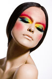 Fashion make-up Stock Photo