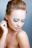 Fashion make-up Stock Photos