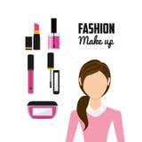 Fashion make up design. Illustration eps10 graphic Stock Photos