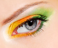 Fashion make-up - �hameleon Stock Image
