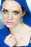 Fashion make-up woman Royalty Free Stock Image