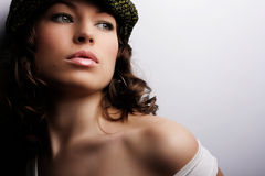 fashion makeup Arkivfoton