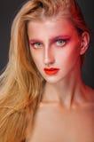 fashion makeup Arkivbilder