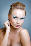 Fashion makeup Stock Images
