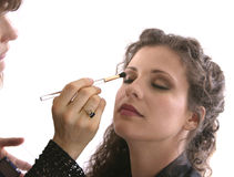 Fashion Makeup Stock Photography