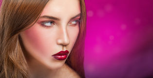 Fashion makeup Royalty Free Stock Images
