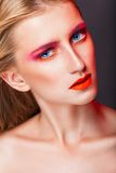 Fashion makeup Royalty Free Stock Photography