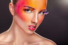 Fashion makeup Royalty Free Stock Image