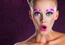 Fashion makeup Stock Photos