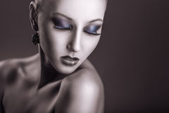 Fashion makeup Royalty Free Stock Photography