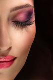 Fashion makeup Royalty Free Stock Photo