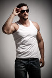 Fashion Male royalty free stock photography