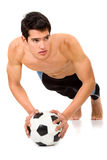 Fashion male body Stock Photography