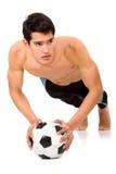 Fashion male body Stock Photography