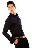 Fashion male portrait Stock Image