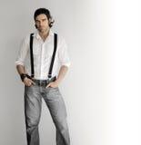 Fashion man Royalty Free Stock Image
