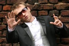 Fashion man Stock Images