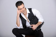 Fashion Man Royalty Free Stock Photo