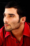 Fashion man face Stock Image