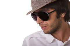 Fashion man model Stock Image