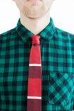 Fashion man with necktie Stock Photo