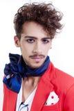 Fashion man portrait Stock Photos