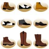 Fashion man shoes Royalty Free Stock Photos