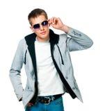 Fashion man in sunglasses Stock Image