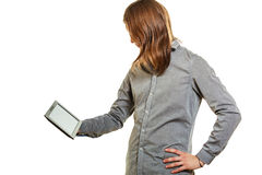 Fashion man using pc tablet browsing internet. Stock Photos