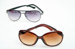 Fashion man and woman  sunglasses Stock Photo