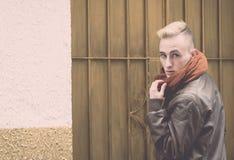 fashion mannen Arkivfoto