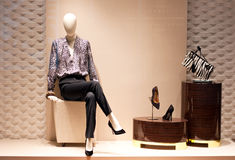 Fashion Mannequin Display Stock Images