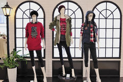 Fashion Mannequin Display Stock Image