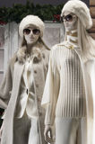 Fashion mannequin. Display mall retail shopping luxury gift window Royalty Free Stock Photography