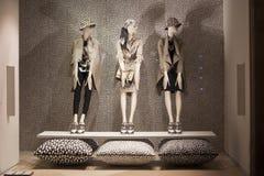 Fashion mannequin  showcase display shopping retail Royalty Free Stock Image