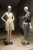 Fashion mannequin  showcase display shopping retail. Fashion luxury  showcase display shopping retail Royalty Free Stock Photos
