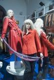 Fashion mannequin  showcase display shopping retail. Fashion luxury  showcase display shopping retail Stock Image