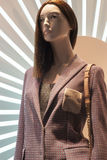 Fashion mannequin showcase display shopping retail. Fashion luxury showcase display shopping retail royalty free stock image