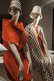 Fashion mannequin  showcase display shopping retail Stock Photography