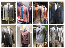 Fashion mannequin  showcase display shopping retail Stock Photos