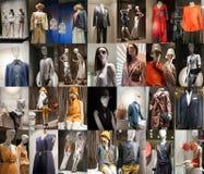 Fashion mannequin  showcase display shopping retail Royalty Free Stock Photos