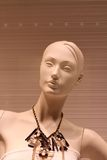 Fashion mannequin for a women clothes boutique Royalty Free Stock Image