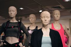 Fashion Mannequins Stock Photos