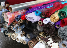 Fashion materials Royalty Free Stock Images
