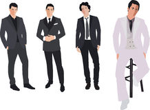 Fashion men Royalty Free Stock Photo
