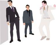Fashion men. Vector illustration of fashion men Royalty Free Stock Photo