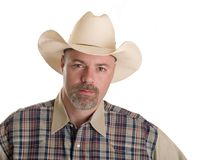 Fashion - men - cowboy Stock Images