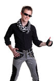 Fashion men pants Stock Image