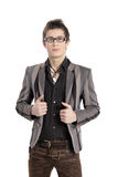 Fashion men pants, a shirt Royalty Free Stock Photos
