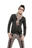 Fashion men pants, a shirt Stock Photos